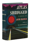 Atlas Shrugged By Ayn Rand First Edition 1st Printing 1957