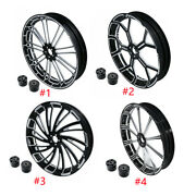 18/21/23/26and039and039 Front Wheel Rim Hub Dual Disc Fit For Harley Touring 2008-2019