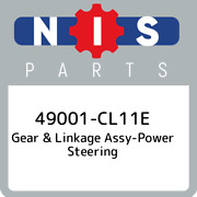49001-cl11e Nissan Gear And Linkage Assy-power Steering 49001cl11e New Genuine Oe
