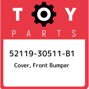 52119-30511-b1 Toyota Cover Front Bumper 5211930511b1 New Genuine Oem Part