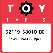 52119-58010-b0 Toyota Cover Front Bumper 5211958010b0 New Genuine Oem Part