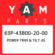 63p-43800-20-00 Yamaha Power Trim And Tilt As 63p438002000 New Genuine Oem Part