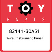 82141-30a51 Toyota Wire, Instrument Panel 8214130a51, New Genuine Oem Part