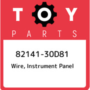 82141-30d81 Toyota Wire, Instrument Panel 8214130d81, New Genuine Oem Part