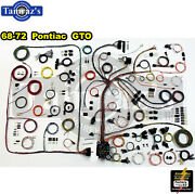 68-72 Gto Classic Update Series Complete Body And Interior Wiring Harness Kit