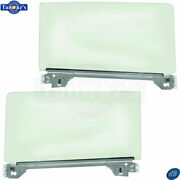 66-67 Chevy Ii Hardtop Coupe Door Window Glass Tinted W/ Channel Track - Pair