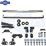1968 Camaro Front And Rear Bumper Kit W/ Frame Brackets Bolts Mounts Hardware