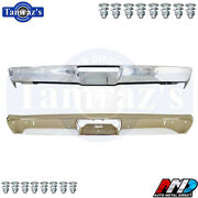 1971-1972 Plymouth Duster Front And Rear Bumper Kit Amd With Bolts W/ Jack Slots