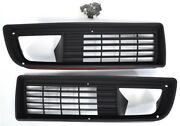 1979-1981 Trans Am Ta Front Grill Grille Pair With Hardware Golden Star