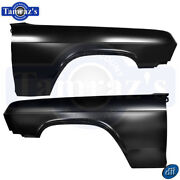 1965 Chevy Bel Air Biscayne Impala Front Fenders - Dynacorn - Lh 1704e 1704d New