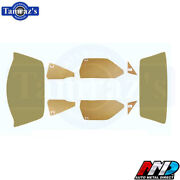 70-2 Duster 71-2 Demon Complete Window Glass Kit Tinted Amd New