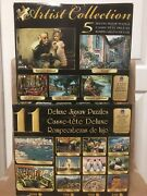 Deluxe Jigsaw Puzzles. 16 Puzzles In All. Sure-lox 500-1000 Pieces 100 Complete