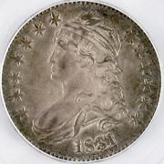 1831 U.s. Capped Bust Half Dollar Graded Ms64 By Pcgs
