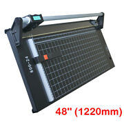 48inch / 1220mm Precision Rotary Paper Trimmer For Photo Paper Cutter New