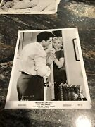 """Vintage 1958 8"""" X 10 Real Movie Photo Ben Casey Vince Edwards Murder By Contract"""
