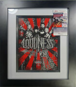 Signed Loudness Autographed 11x14 Framed Photo Display Certified Jsa Gg18321