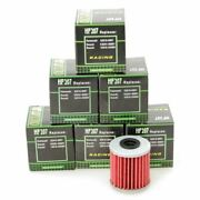 Hiflo Hf207 Motorcycle Oil Filter Multipack X 6 For Kawasaki Kx 250 F 04-17