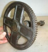 Cam Gear And Shaft For A 2hp Fairbanks Morse T Or H Hit And Miss Gas Engine Fm