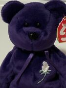 Rare 1st Edition 1997 Princess Diana Ty Beanie Baby Mint Nwmt's Made In China