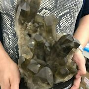 The Best Smoky Crystal Cluster Quartz 3.2 Kg = 7 Lbs Free Shipping