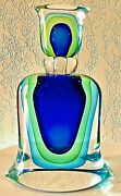Murano Vintage Mid Century Modern Perfume Bottle Sommer. Formia Made In Italy