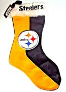 Pittsburgh Steelers Christmas Stocking 18 Inches Team Logo Nfl New Ships In1day
