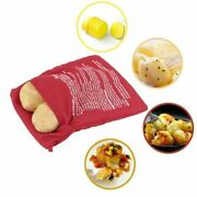 Potato Express Cooking Bag Microwave Cook Baked Potatoes In 4 Fast Minutes 2 Pcs