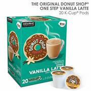 The Original Donut Shop Vanilla Latte Coffee 20 To 160 K Cup Pods Pick Any Size
