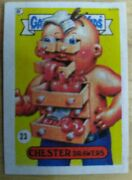 Rare Colombian Garbage Pail Kids Mini Single 23 Chester Drawers