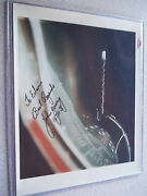 John Young Vintage Nasa Red Rd Gemini 10 Autographed Photo-uncommon