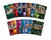 Er The Complete Season All 1-15 Dvd Set Series Tv Show Collection Free Exp Ship