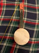 Vintage Tin And Wood Toy Banjo 15andrdquo-16andrdquo Japan Barn Find Ty Toy Repair Display