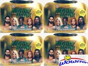 4 2019 Topps Wwe Wrestling Money In The Bank Mini-briefcase Tin-4 Auto/