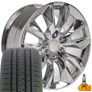 20x9 5916 Rims Tires And Tpms Set Fits Chevy And Gmc 20 2337622