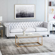 Zyiere Tufted Chesterfield 3 Seater Sofa