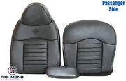 2000 Ford F150 Harley-davidson-passenger Side Complete Leather Seat Covers Black
