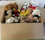 Plush Toys Bulk Assortment Lot 900 Pieces. Promotional, New From Warehouse. Mix