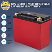 Lfp20l-bs 12v 20ah 650cca Motorcycle Lithium Iron Phosphate Battery Lifepo4