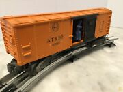 Lionel O Gauge 63132 A.t.ands.f. Operating Box Car