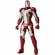 Sci-fi Revoltech 041 Iron Man 2 Iron Man Mark 5 Non Scale Abs And Pvc Painted