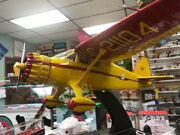Hand Carved Wood Model Airplane Model