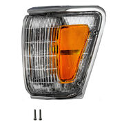New Drivers Park Clearance Lamp W/ Chrome Trim For Toyota Pickup Truck 4runner