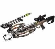 Bear Archery Bear X Constrictor True Timber Strata 410 Fps Crossbow Package