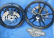 Sold Harley Dyna Wheels Includes Bearings As Shown Fxd Street Switch-blades