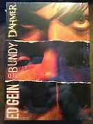 Dahmer, Ted Bundy And Ed Gein 3 Dvd Box Set First Look Media, Usa, 2003 New