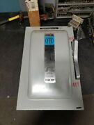 Ite 200 Amp Fused Safety Switch 240 Vac 50 Hp 3 Phase F424