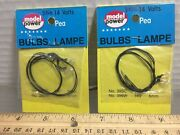 2 Model Power, 12-14 Volts Packages Of Bulbs, Any-scale Buildings And More