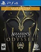 Assassins Creed Odyssey Gold Edition North America - Ps4