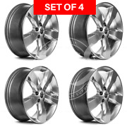 Four 20 Inch Replacement Alloy Wheel Rim Fits Jeep Grand Cherokee 2011 2012 2013