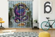 3d Chinese Blessing Dragon P642 Window Photo Curtain Printing Fabric Vincent Amy